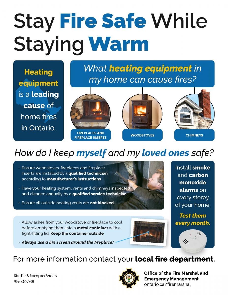 Staying Fire Safe While Staying Warm tips image
