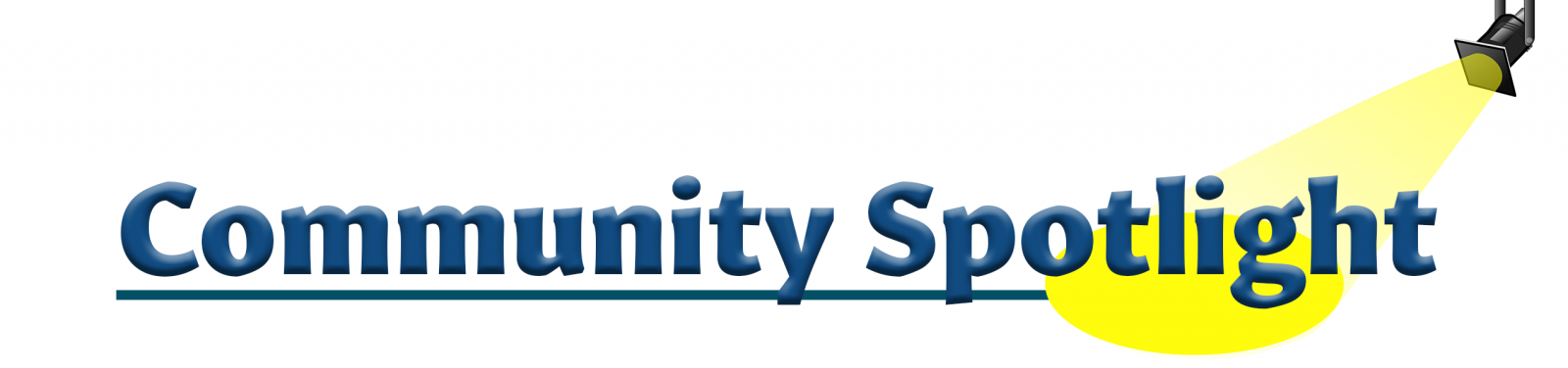 Community Spotlight section header image