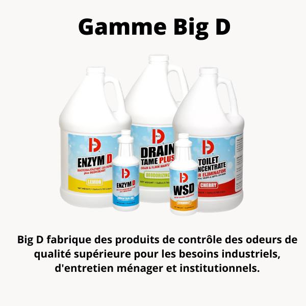 Big D produits sanitaires pour contrôle des odeurs