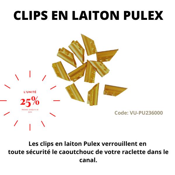 Clips en laiton Pulex - Distributions Pla-M