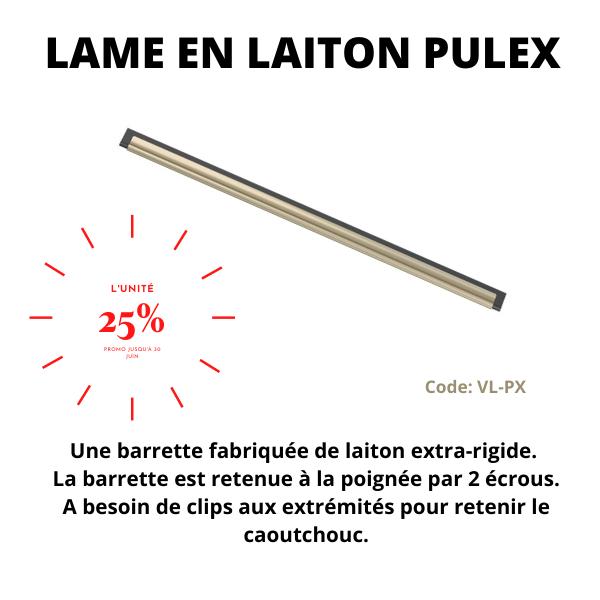 Lame en laiton Pulex