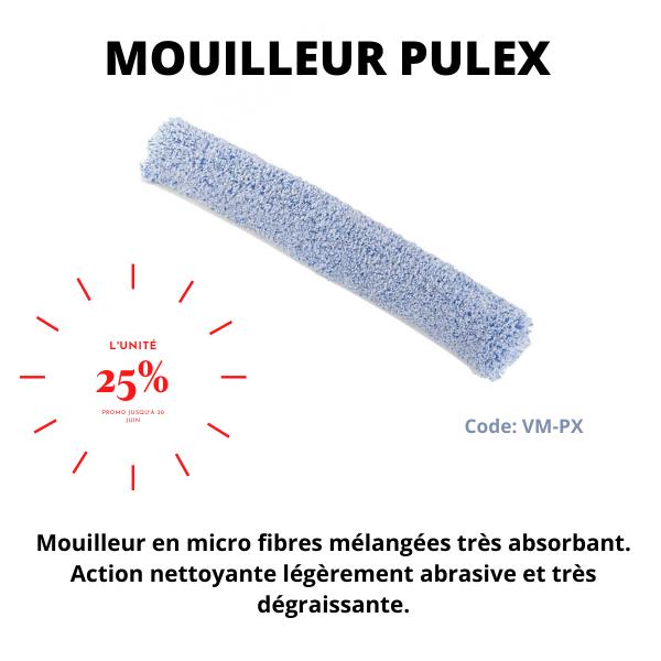 Mouilleur Pulex microfibre bleu / 9727