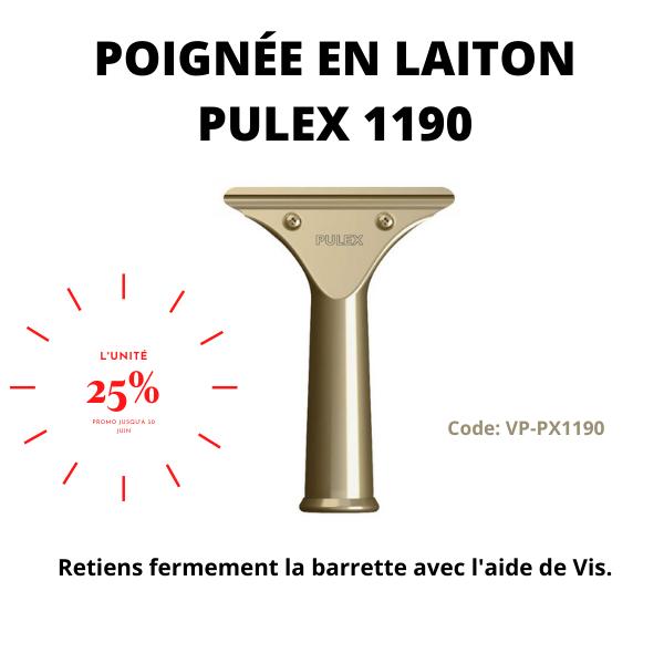 Poignée en laiton Pulex 1190