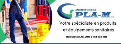 Distributions Pla-M Inc Vente produits sanitaires à Montréal