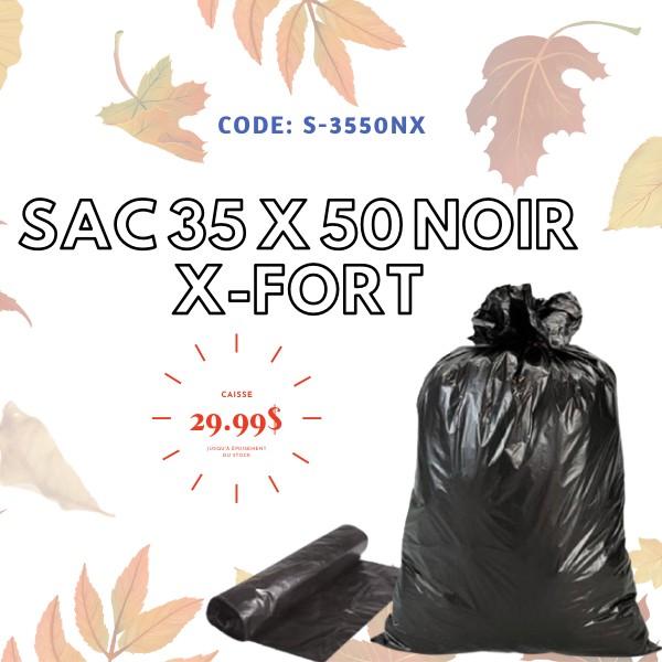 Promotion de sacs à ordures noir extra-fort 35 x 50 - Distributions Pla-M