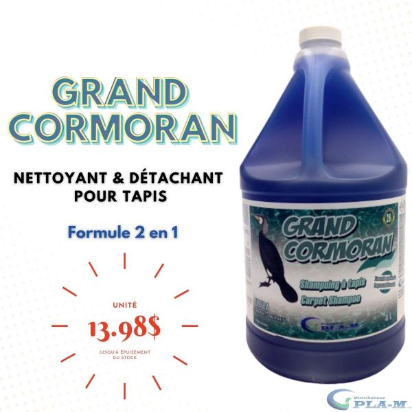 Promotion Shampoo à tapis Grand Cormoran chez Distributions PlaM