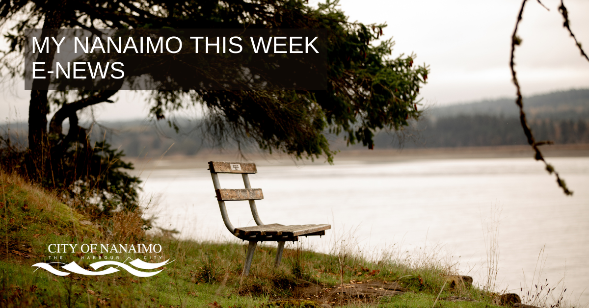 my nanaimo e-newsletter for the week of September 27, 2021