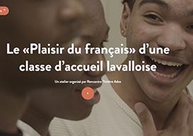 Reportage Fabrique culturelle Plaisir de la culture en français