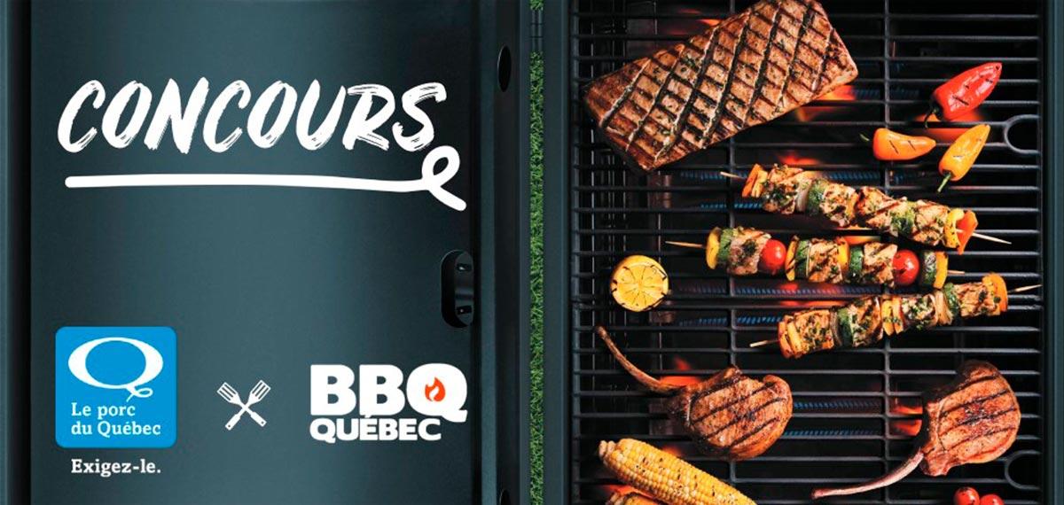 Le porc du Québec et BBQ Québec lancent un concours