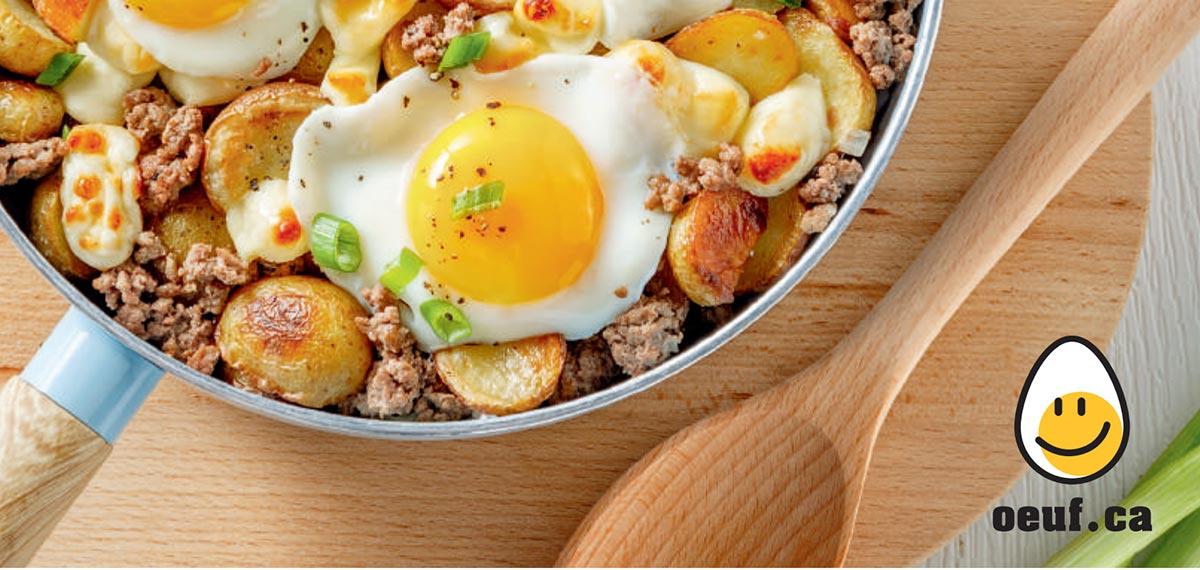 À chacun son œuf : un nouveau livret de recettes