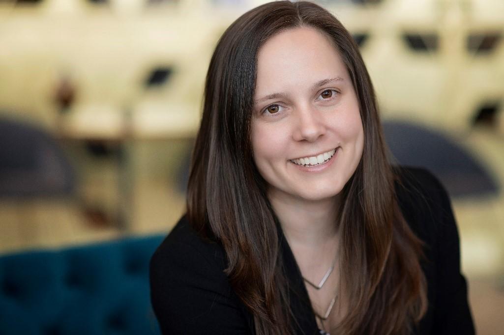 : Audrey Blouin, présidente et designer graphique, Hop Design stratégique
