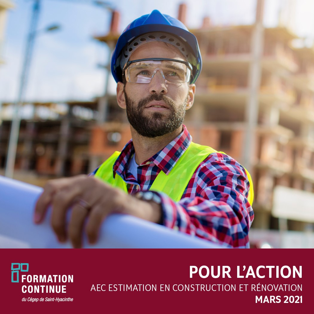 Formation en estimation en construction et rénovation en mars 2021