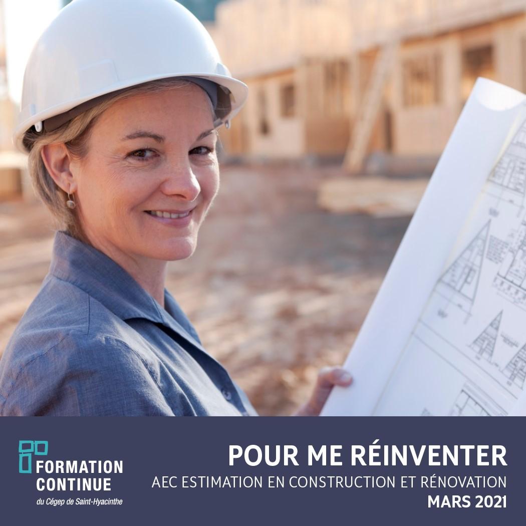 AEC ESTIMATION EN CONSTRUCTION ET RÉNOVATION EN MARS 2021